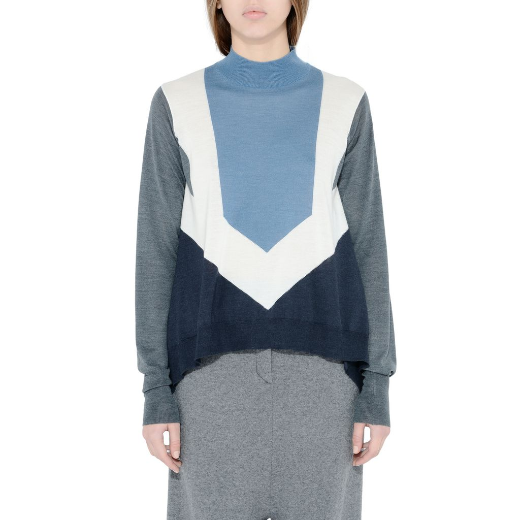 Ink Crew Neck Jumper - STELLA MCCARTNEY