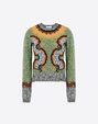 VALENTINO LB3KC16T2SQ V75 Knit top D f