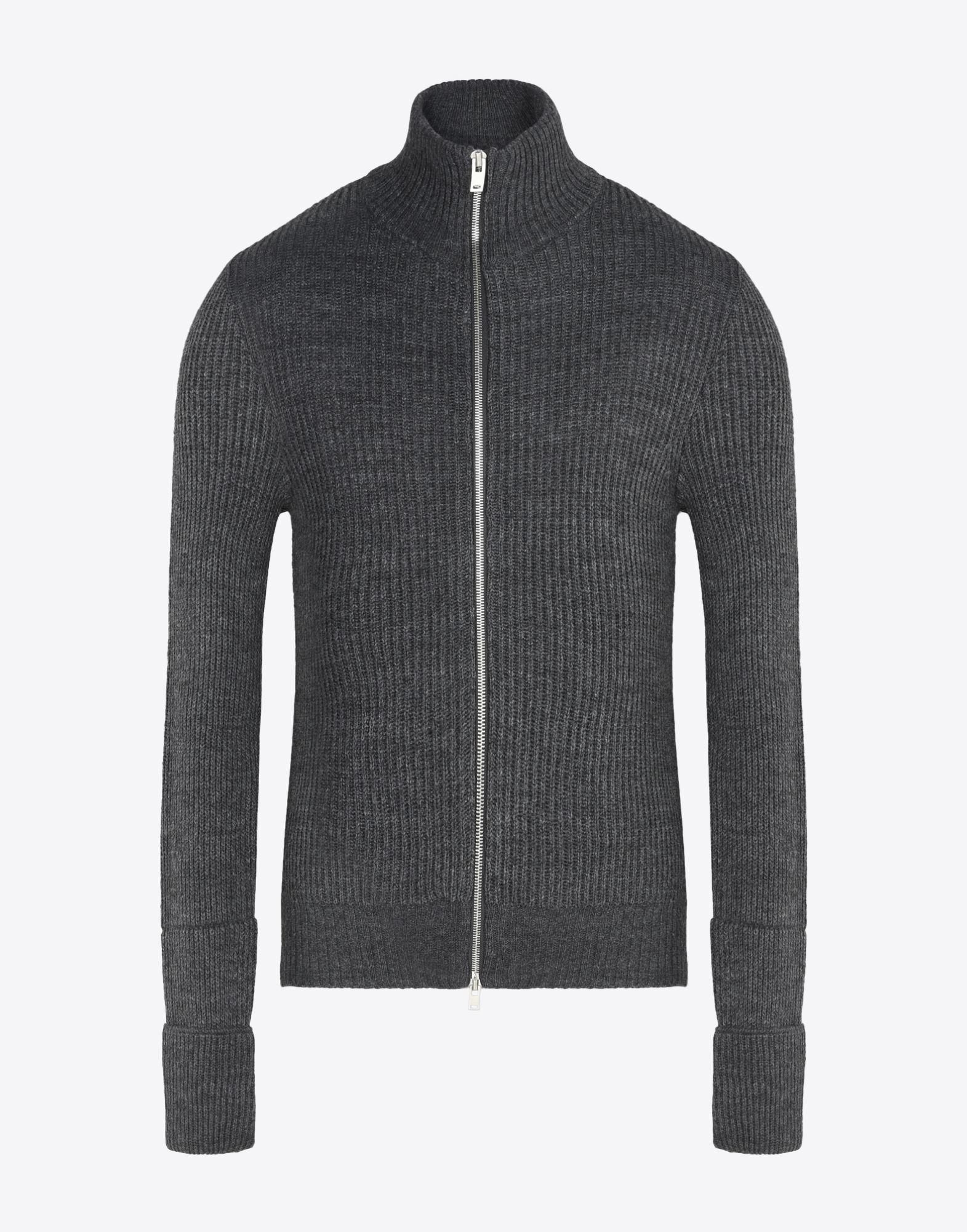 MAISON MARGIELA 14 Sweater mit Reißverschluss Pullover mit Rollkragen Herren f