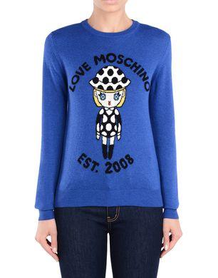 LOVE MOSCHINO Long sleeve sweater D r