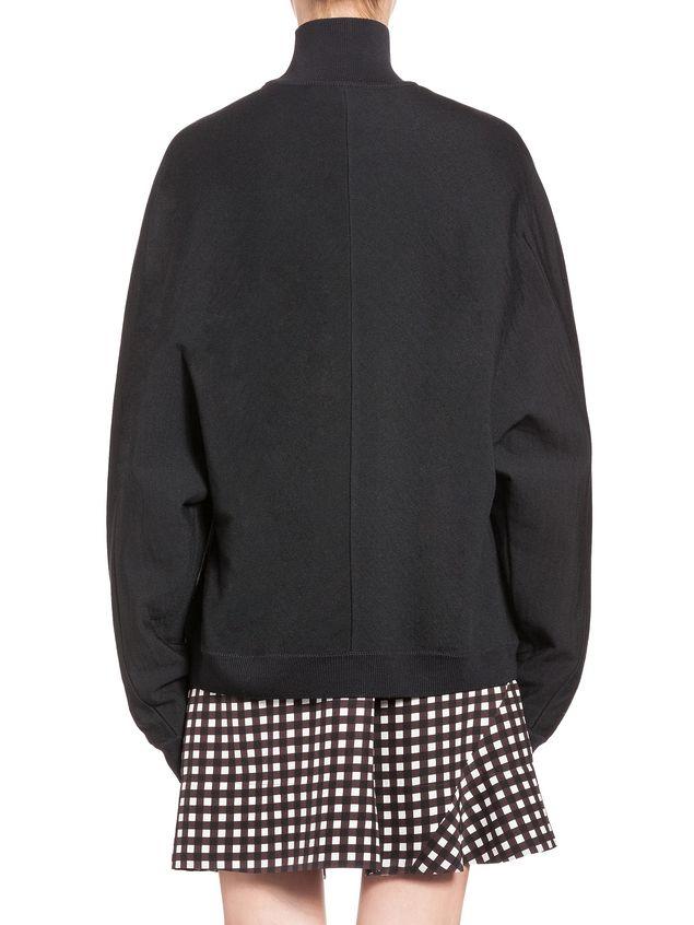 Marni Oversize kimono turtleneck in virgin wool  Woman - 3