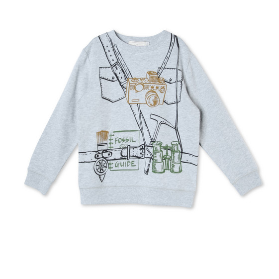 Explorer Print Biz Sweatshirt