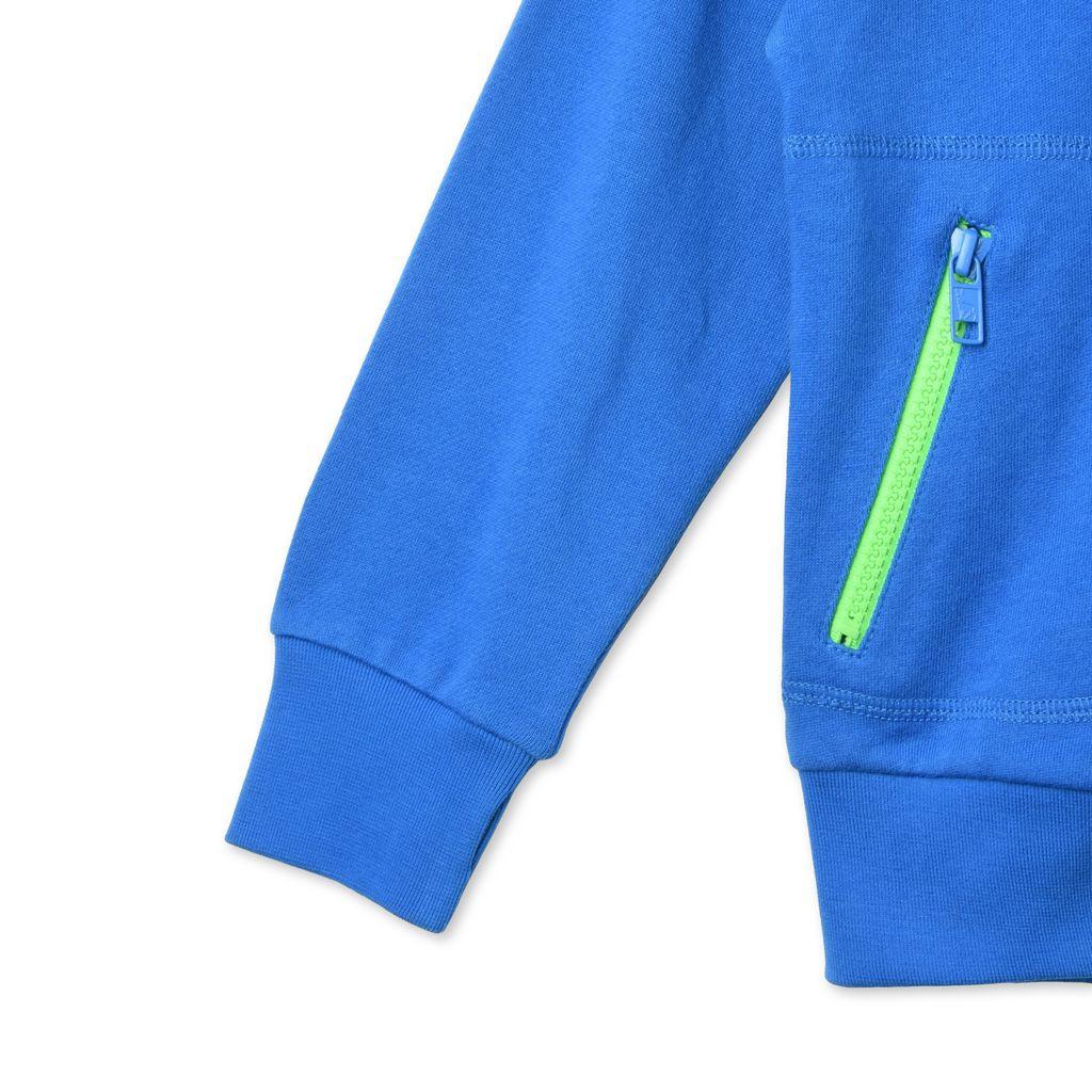 Blue Bandit Sweatshirt - STELLA MCCARTNEY KIDS