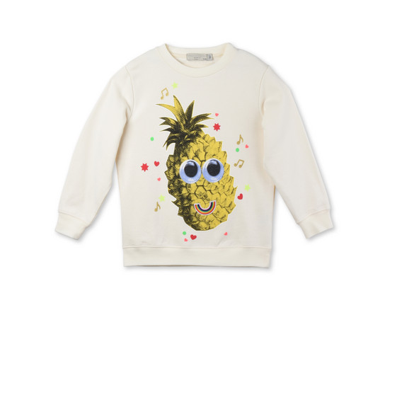 Sweat-shirt Betty à imprimé ananas