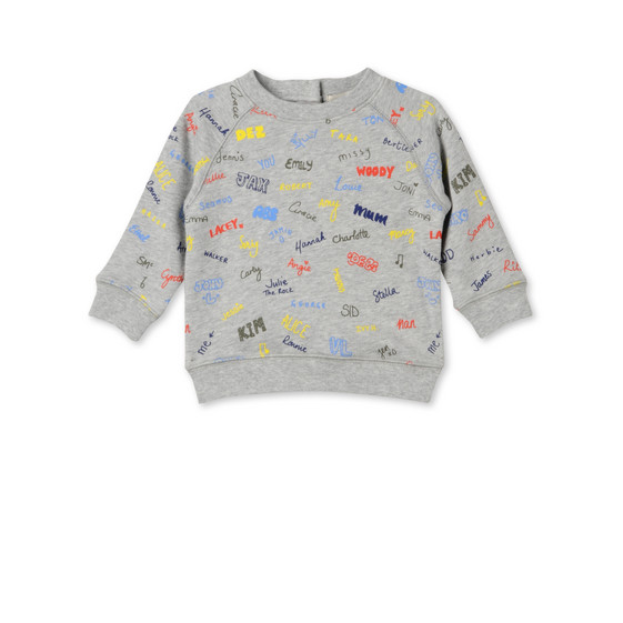 Names Print Billy Sweatshirt