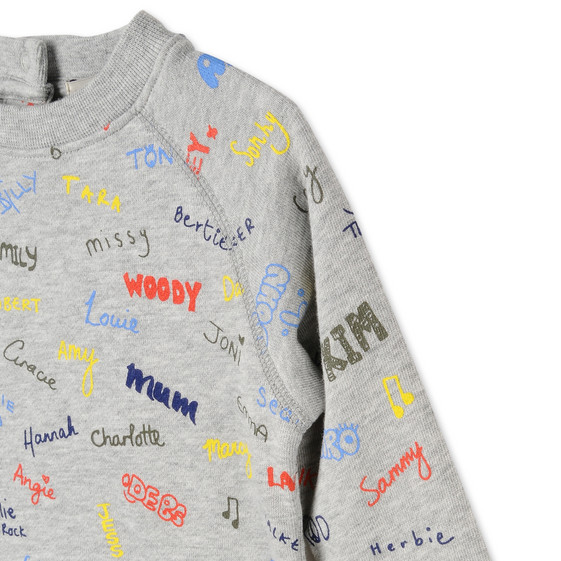 Names Print Billy Sweatshirt