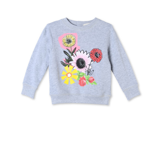 Graphic Flowers Betty Sweatshirt