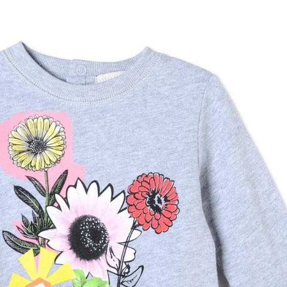 Graphic Flowers Betty Sweatshirt