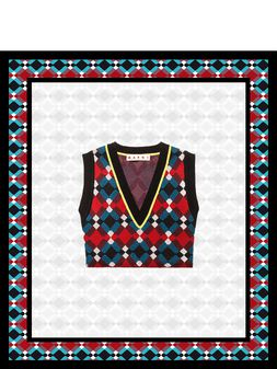 Marni Blinky Collection Sweater Vest Woman