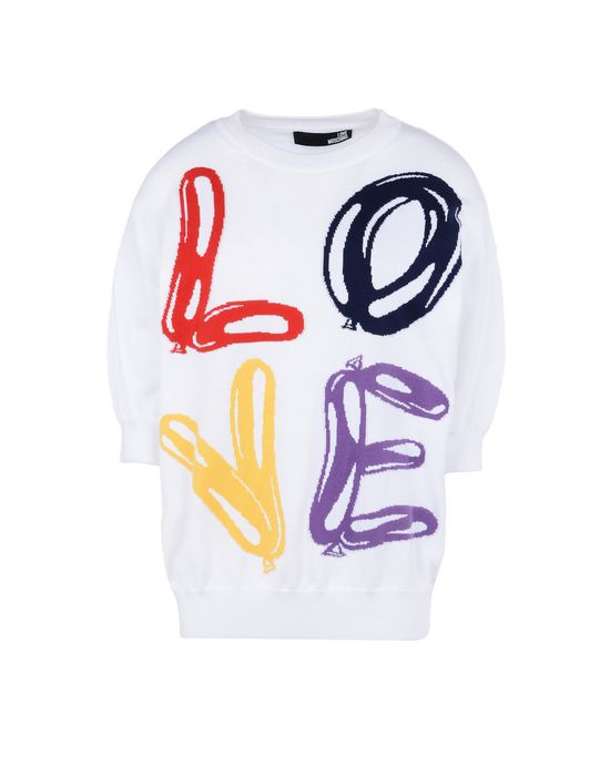 Short sleeve jumper Woman LOVE MOSCHINO