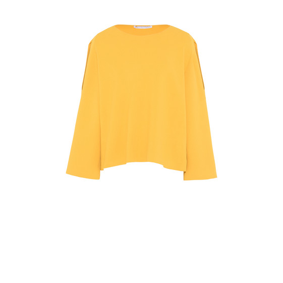 Mustard Round Neck Sweater