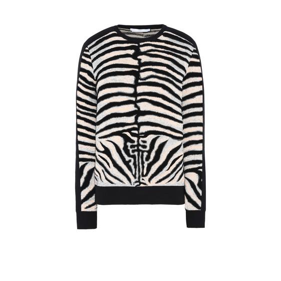 Zebra Jacquard Jumper
