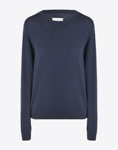 MAISON MARGIELA 4 Long sleeve sweater D Elbow details pull-over f