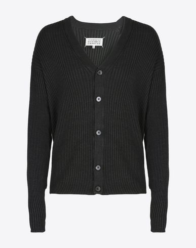 MAISON MARGIELA 14 Cardigan U Cardigan with elbow patches f