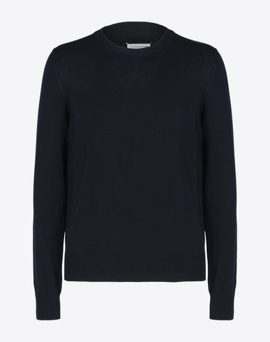 MAISON MARGIELA 14 Crewneck sweater U Jersey pull-over with elbow details f