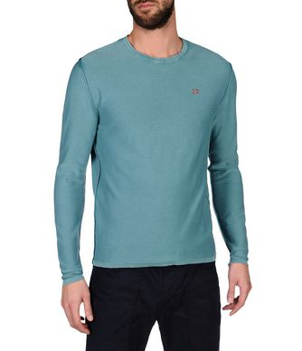 NAPAPIJRI DECIL MAN SWEATER,DEEP JADE