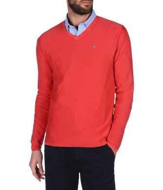 NAPAPIJRI DAMPSIE MAN SWEATER,RED