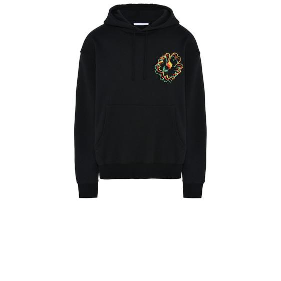 Black Nice One Embroidered Sweatshirt