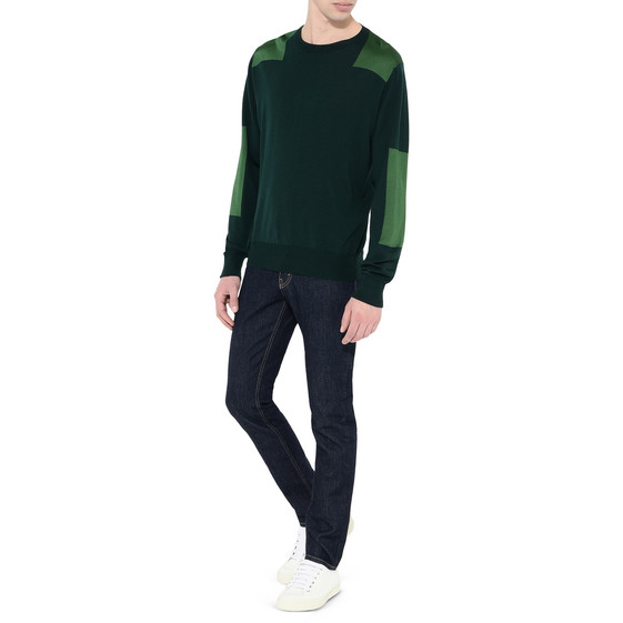Green Utility Knit Jumper