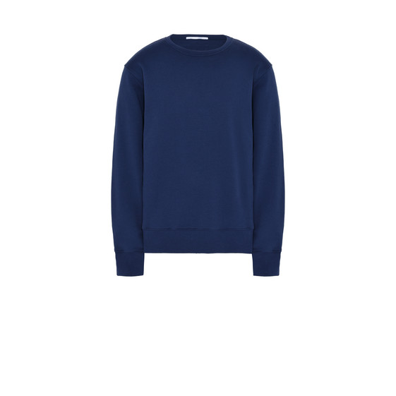 Brushed Fleece Embroidered Jumper