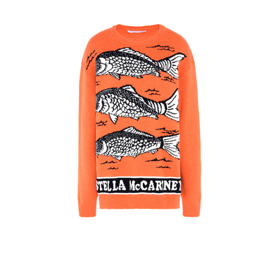 Fishes Intarsia Jumper