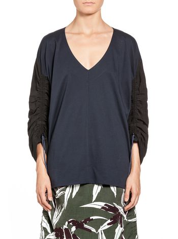 Marni Sweatshirt in cotton jersey Woman
