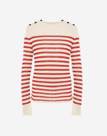 VALENTINO JUMPER WITH MILITARY PATCH  39718139HL