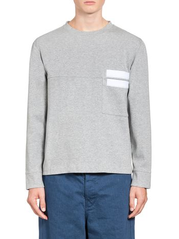 Marni Double face cotton sweatshirt Man