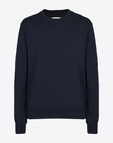 MAISON MARGIELA 14 Sweatshirt U Sweatshirt with elbow patches f