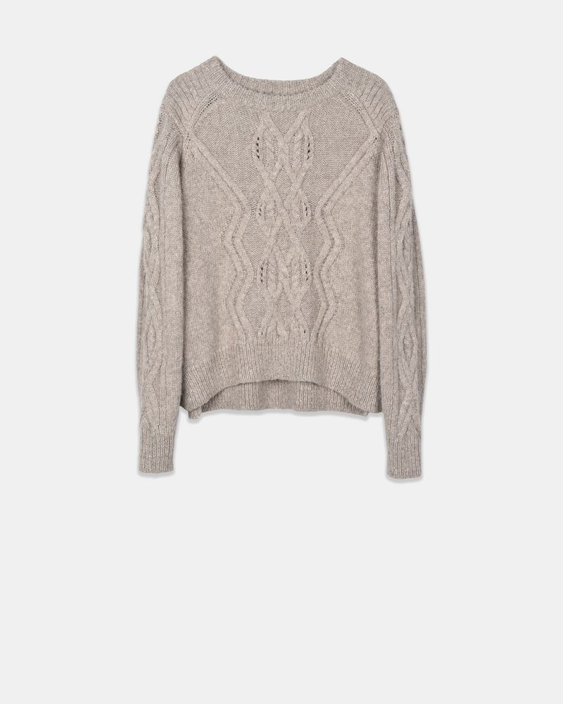 Elena Cable knit alpaca sweater ISABEL MARANT