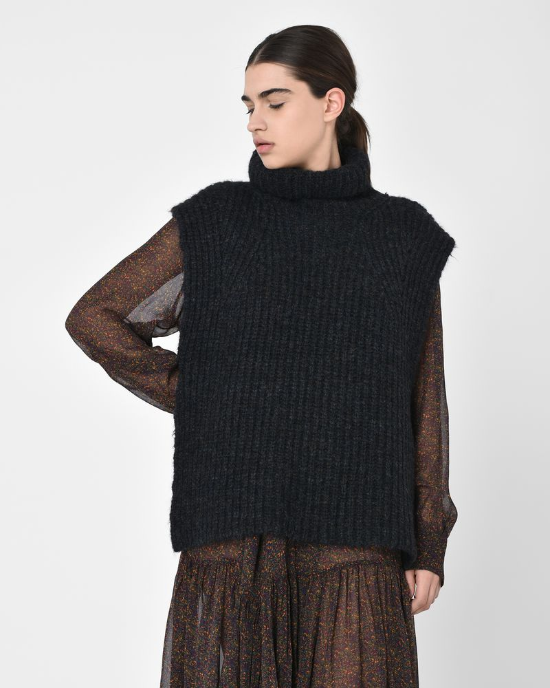 99693b31ef Delwood Sleeveless wool and mohair blend sweater