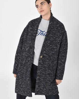 Osbert Oversize cotton blend coat