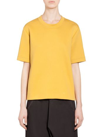 Marni Sweatshirt in yarn-dyed jersey Woman