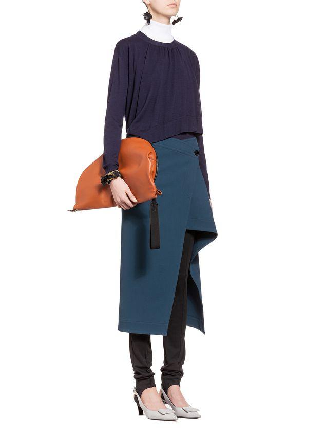 Marni Ruffled virgin wool knit Woman - 5