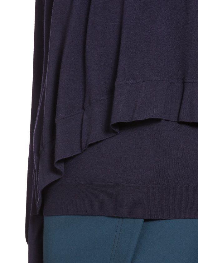 Marni Ruffled virgin wool knit Woman - 4