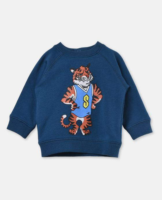 Billy Tiger Print Jumper