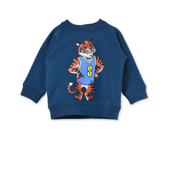 Billy Tiger Print Sweatshirt