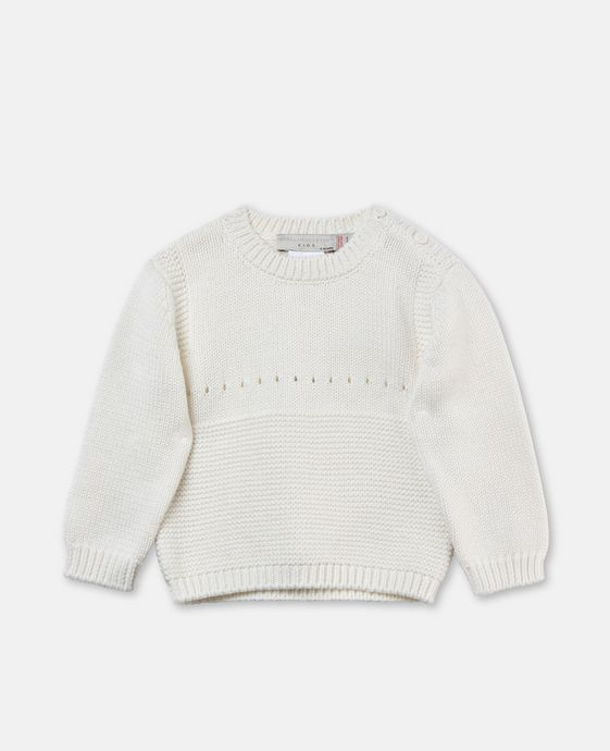Thumper White Bunny Sweater