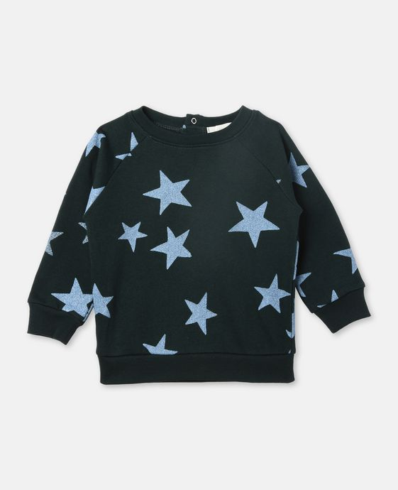 Betty Blue Star Print Sweater
