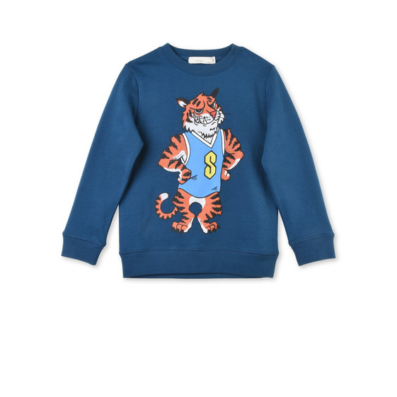 Biz Tiger Mascot Sweatshirt