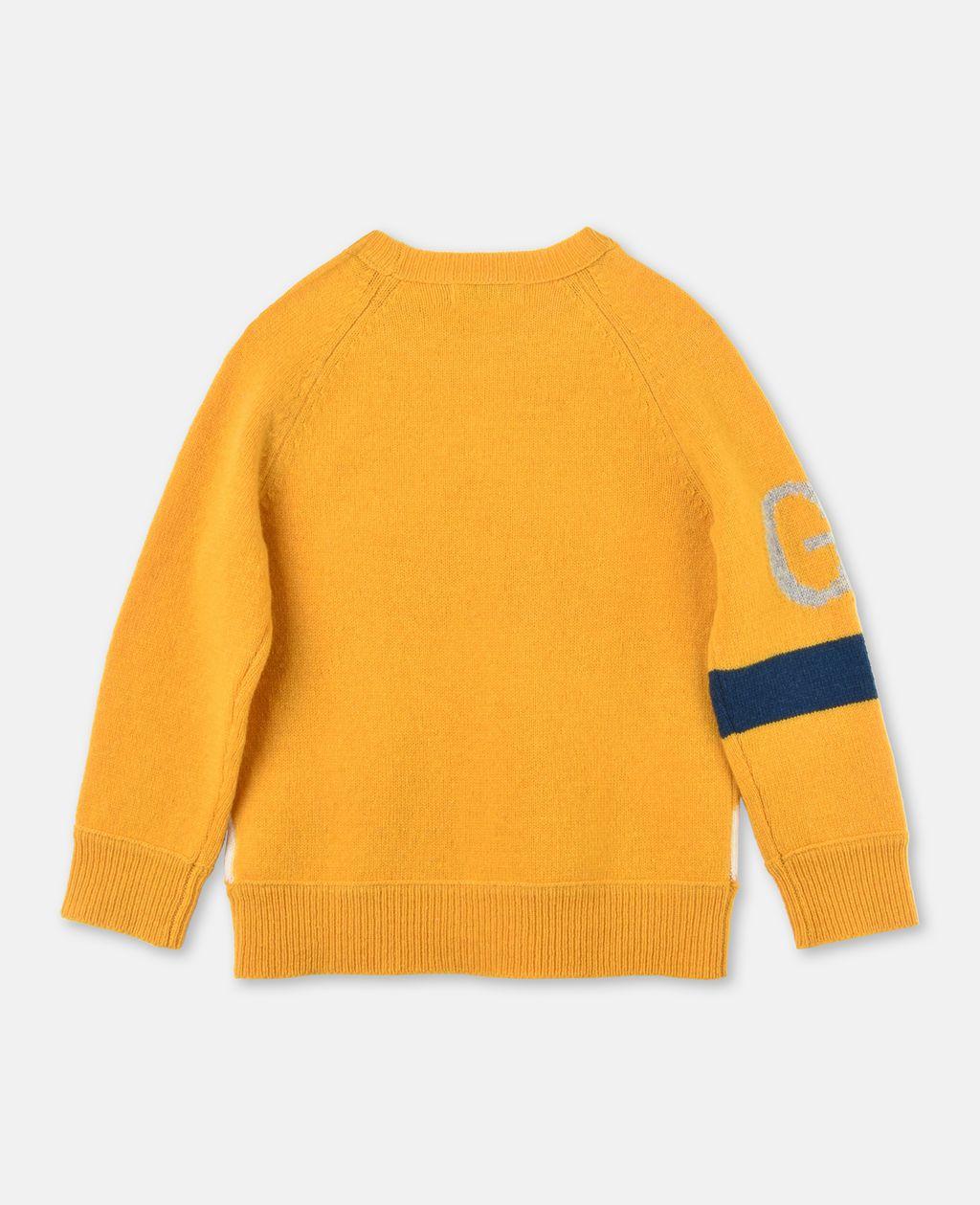 GOGO Yellow Knit Sweater - Stella Mccartney Kids