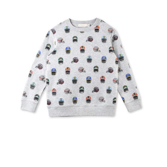 Biz Helmet Print Sweatshirt