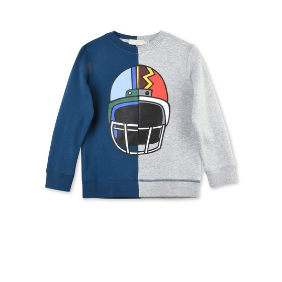 Biz Ice Hockey Helmet Print Jumper