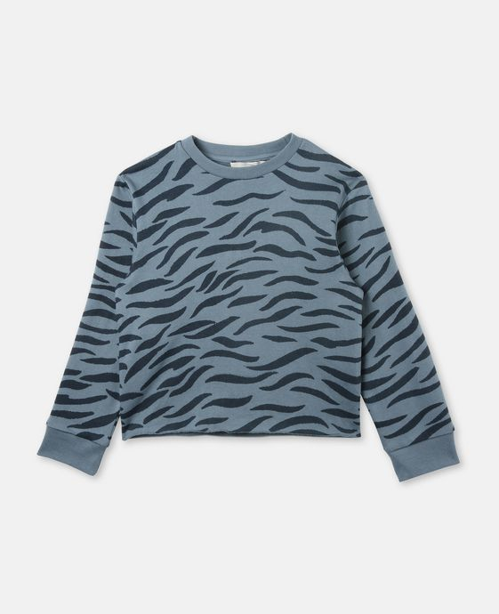 Betty Blue Tiger Print Sweater