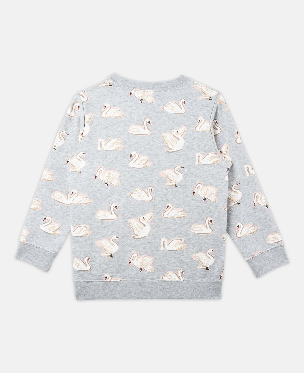 Betty All-Over Swan Print Jumper - STELLA MCCARTNEY KIDS