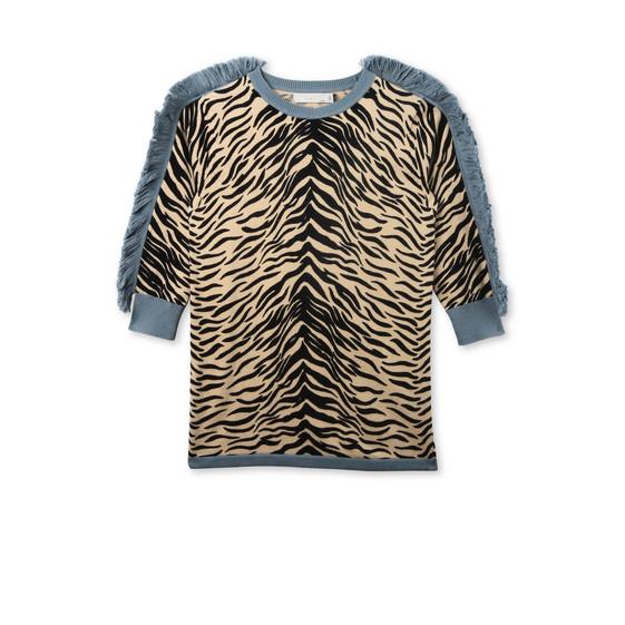 Rita Tiger Print Knit Dress