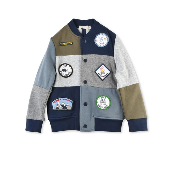 STELLA McCARTNEY KIDS Jumpers & Cardigans U Roy Badges Cardigan f