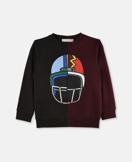 Biz Helmet Print Sweater