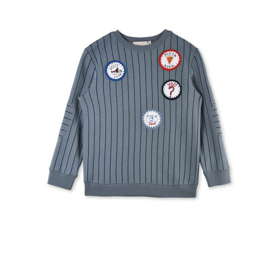 Biz Blue Stripe Jumper