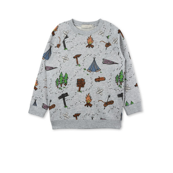 Billy Gray Explorer Print Sweater